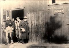 Theresienstadt, Czechoslovakia, Public showers, taken from a Nazi propaganda film, 1944. 18358519002126334142.jpg