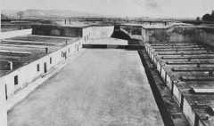 barracks and the crematorium in Theresienstadt.jpg