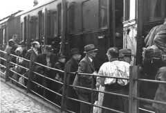 Wiesbaden, Germany, Jews boarding a deportation train to Theresienstadt, 29-08-1942- 5810624683248335023.jpg