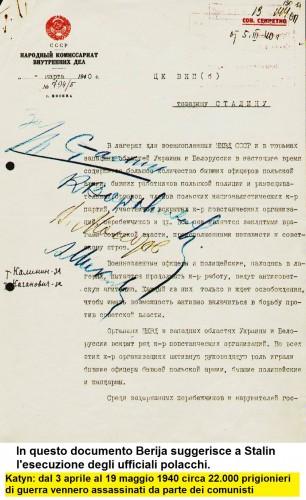Katyn_In questo documento Berija suggerisce a Stalin l'esecuzione degli ufficiali polacchi._decision_of_massacre_p1.jpg