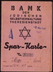 1945, Bank der Judischen Selbstverwaltung Theresienstadt- Bank of the Jewish self-government Theresienstadt.jpg