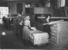 Theresienstadt, Czechoslovakia, A carpentry shop in the ghetto. 10179669251194453056.jpg