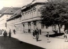 Theresienstadt, Czechoslovakia, 1944, A street scene, taken from a propaganda film-16784539491500075660.jpg